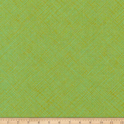 Kaufman Architextures Crosshatch Pistachio