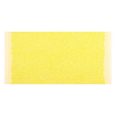 Kaufman Gleaned Spots Double Border Neon Acid Lime
