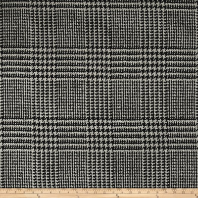 Prince Of Whales Plaid Coating Grey/Black
