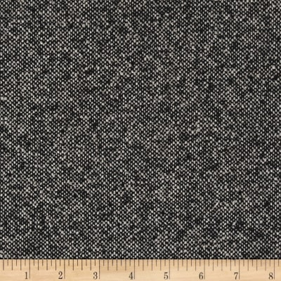 Boucle Wool Blend Coating Black/Grey