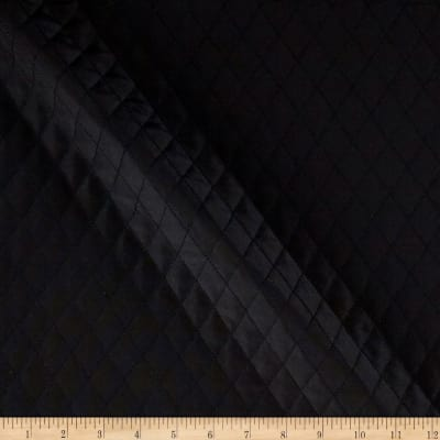 Quilted Interlining Black