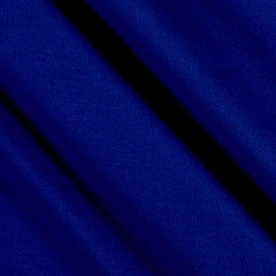 Fabric Merchants Double Brushed Solid Jersey Knit Royal