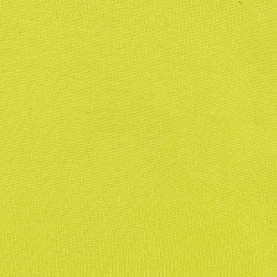 Fabric Merchants Double Brushed Solid Jersey Knit Yellow