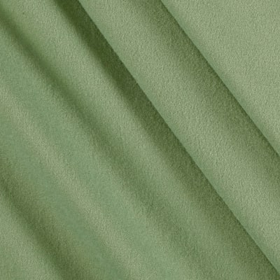 Fabric Merchants Double Brushed Solid Jersey Knit Sage Dark