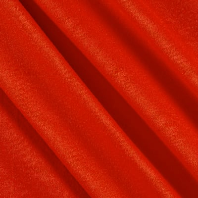 Fabric Merchants Double Brushed Solid Jersey Knit Coral Dark