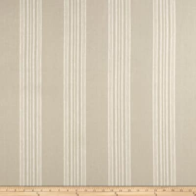 Stof Shabby Chic Linen Blend Spreadout Stripe Natural