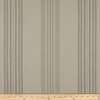 Stof Shabby Chic Linen Blend Spreadout Stripe Grey