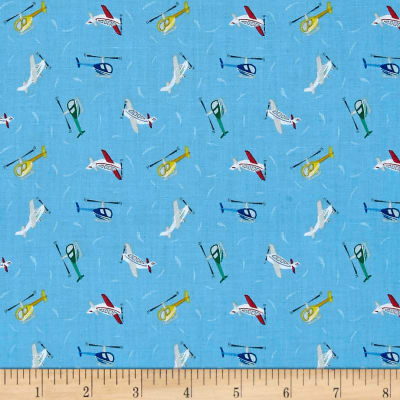 Lewis & Irene Small Things On The Move Planes Blue