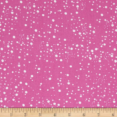 Loralie Designs Calico Cats Galaxy Dot Pink