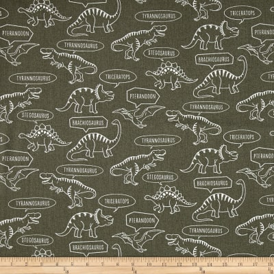 Kokka Trefle Ecole Big Dinosaur Oxford Sage