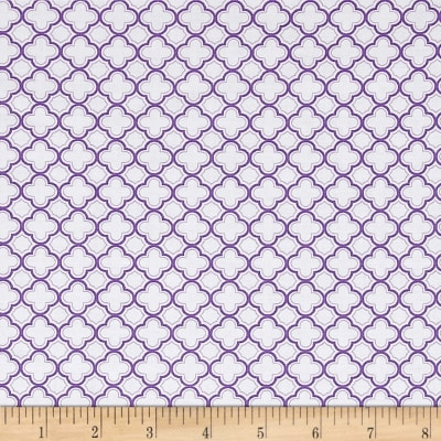 QT Fabrics Sorbet Essentials Geo Purple