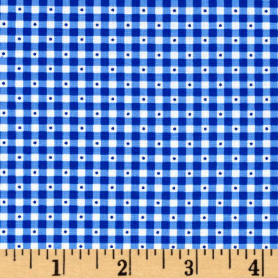 QT Fabrics Sorbet Essentials Gingham Royal