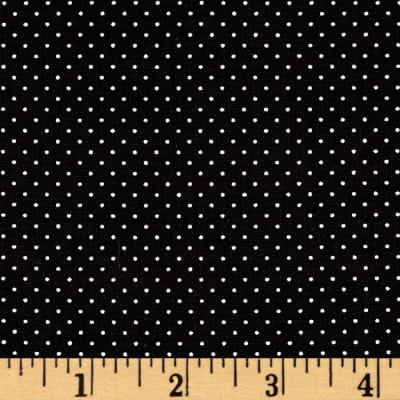 QT Fabrics Sorbet Essentials Mini Dot Black