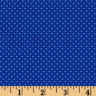 QT Fabrics Sorbet Essentials Mini Dot Royal
