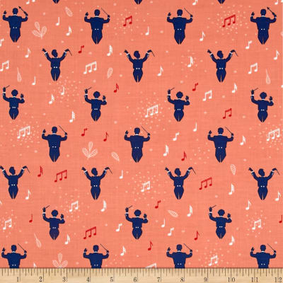 Ink & Arrow Melodie Conductors Salmon