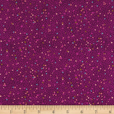 Ink & Arrow Ashtyn Mini Dots Med. Plum