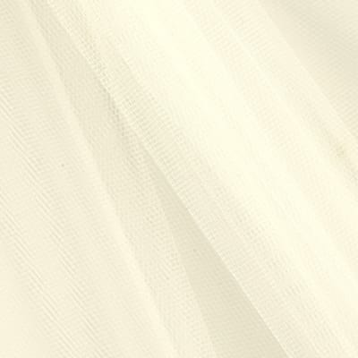 "54"" Apparel Grade Tulle Light Ivory (Bolt, 50 Yard)"