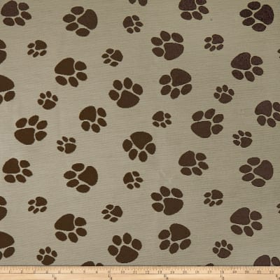 Crypton Home Pet Paws Jacquard Natural