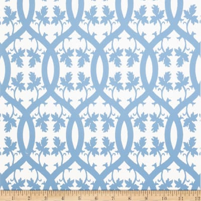 Fabricut 1076e Niccolo Wallpaper S0510 Sky Blue (Triple Roll)