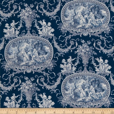 Fabricut 1092a South Hampton S0530 Cobalt