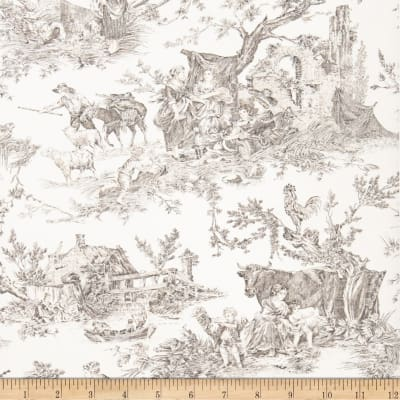 Fabricut 2672e Country Fable Wallpaper S0940 Ebony (Triple Roll)