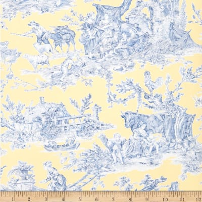Fabricut 2672e Country Fable Wallpaper S0110 Jonquil (Triple Roll)