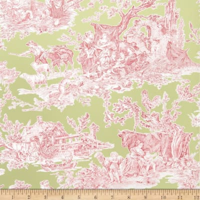 Fabricut 2672e Country Fable Wallpaper S0710 Peridot (Triple Roll)
