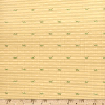 Fabricut 2676e Sauterelle Ii Wallpaper S0130 Sunray (Triple Roll)