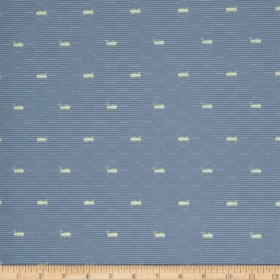 Fabricut 2676e Sauterelle Ii Wallpaper S0520 Cornflower (Triple Roll)