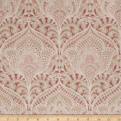 Fabricut 75008w Adelina Wallpaper Loganberry 03 (Double Roll)