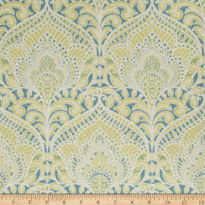 Fabricut 75008w Adelina Wallpaper Malachite 04 (Double Roll)