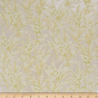 Fabricut 75014w Lily Wallpaper Moonlight 04 (Double Roll)