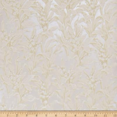 Fabricut 75014w Lily Wallpaper Opalescent 05 (Double Roll)