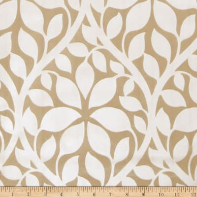 Fabricut 75017w Roslyn Wallpaper Fawn 01 (Double Roll)