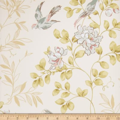 Fabricut 75019w Meadow Wallpaper Woodlands 03 (Double Roll)