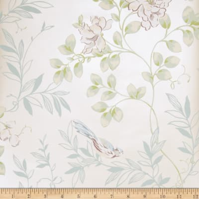 Fabricut 75019w Meadow Wallpaper Haze 01 (Double Roll)