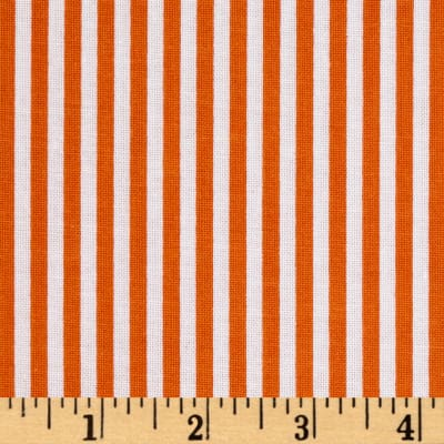"Riley Blake 1/8"" Stripe Riley Orange"
