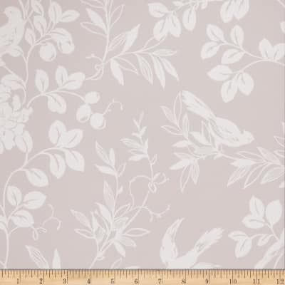 Fabricut 75028w Bird Song Wallpaper Whisper 05 (Double Roll)