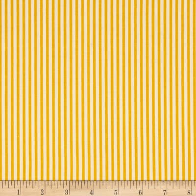 "Riley Blake 1/8"" Stripe Mustard"