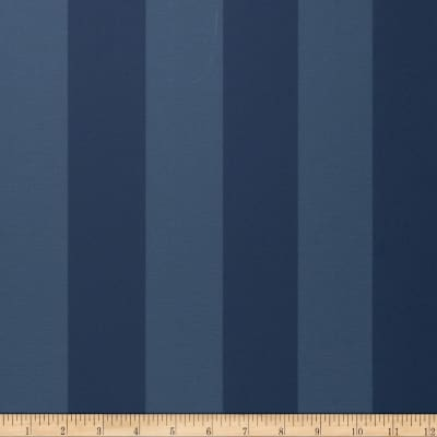 Fabricut 8827e Sutton Stripe Wallpaper S0553 Dress Blues (Triple Roll)