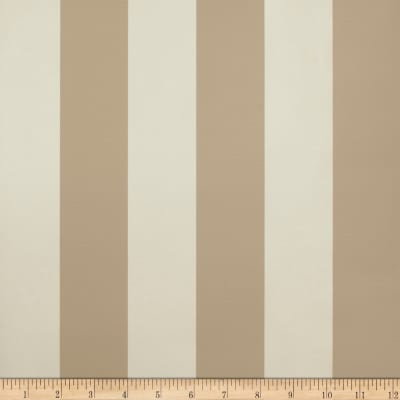 Fabricut 8827e Sutton Stripe Wallpaper S0024 Sandstone (Triple Roll)