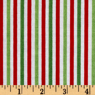 "Riley Blake 1/8"" Stripe Christmas"