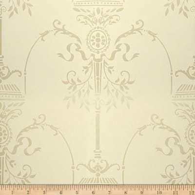 Fabricut Aldridge Nonwoven Wallpaper Ivory (Double Roll)