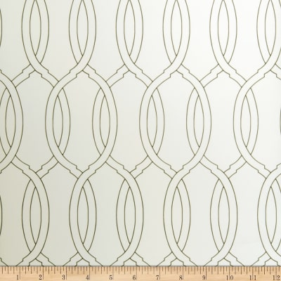 Fabricut Amberden Wallpaper Ivory & Black (Double Roll)