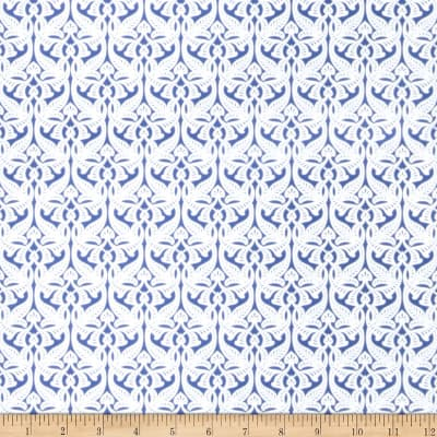 Fabricut Ardall Wallpaper Navy (Double Roll)
