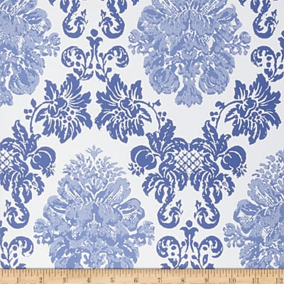 Fabricut Ballard Wallpaper Cobalt (Double Roll)