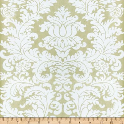 Fabricut Beeton Nonwoven Wallpaper Ivory Gold (Double Roll)