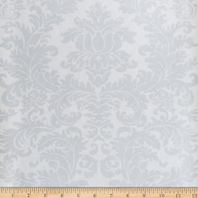 Fabricut Beeton Nonwoven Wallpaper Platinum (Double Roll)