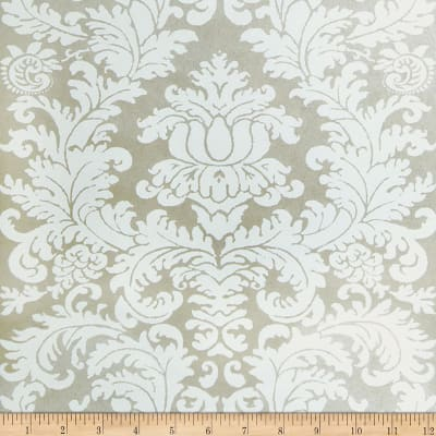Fabricut Beeton Nonwoven Wallpaper Pearl (Double Roll)