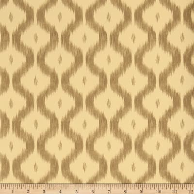 Charles Faudree Benoit Ikat Wallpaper Coffee (Double Roll)